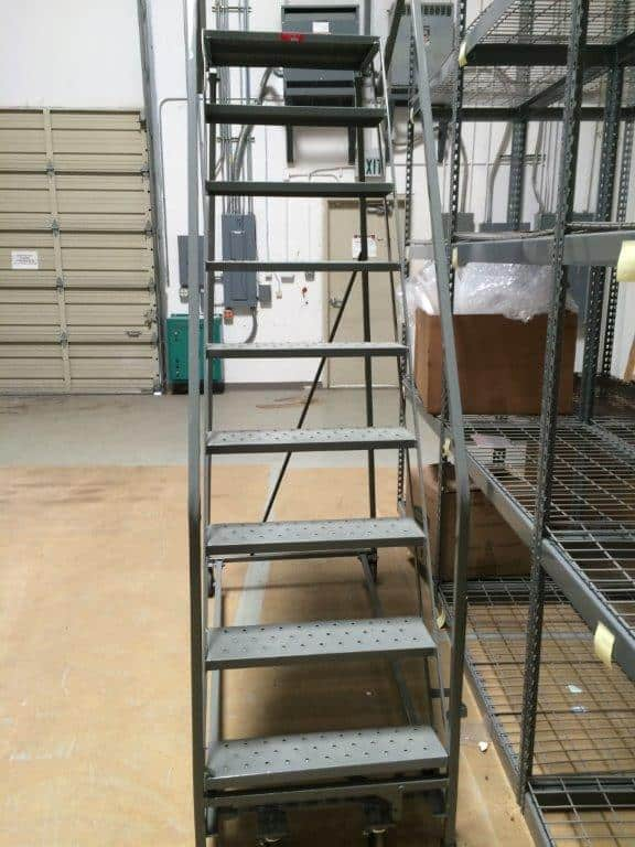 Rolling Ladder Texas Warehouse Equipment Amp Supply Co